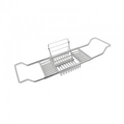 【浴缸置物架】酒店伸缩式不锈钢浴缸置物架批发